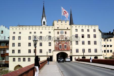 brucktor in wasserburg on inn 1