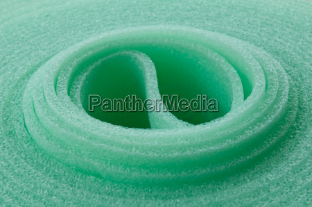 green insulating mat