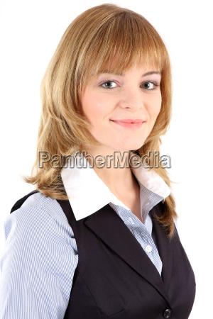 portrait sekretaerin