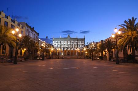 town hall in las palmas de