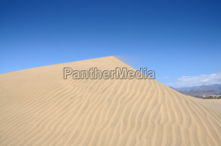 sand dune in maspalomas gran canaria