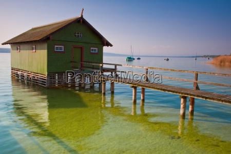green boathouse