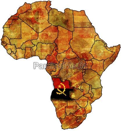 alte flagge von angola