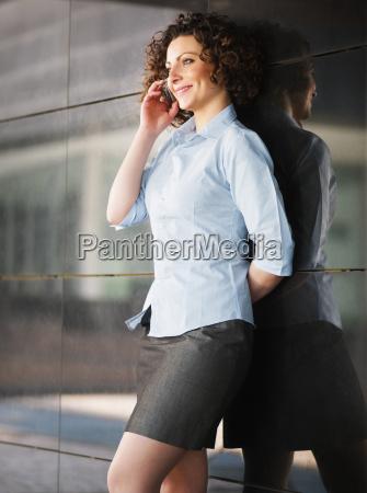 woman looking at camera and smiling