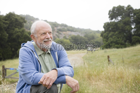 portraet des alten mannes