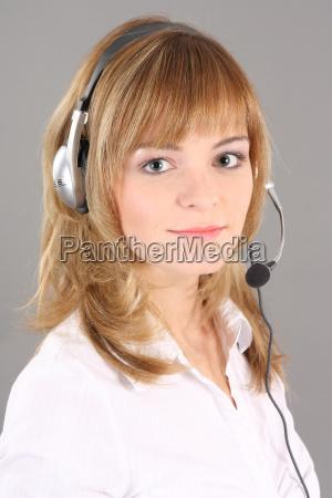portrait call center
