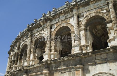 the arena in nimes in france