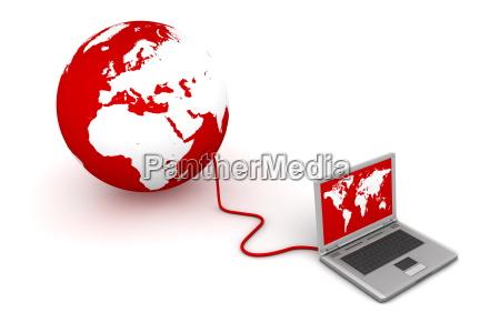 collegato al mondo rosso