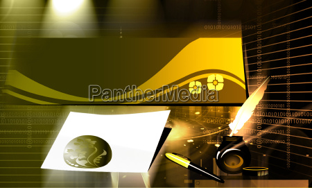 file and paperweight