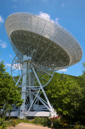 radio telescope in the eifel