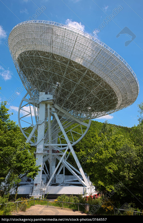 radioteleskop, in, der, eifel - 3164557