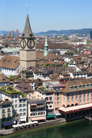 city of zurich switzerland