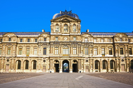 denkmal monument paris museum frankreich fassade