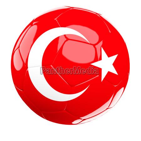 turkey soccer ball