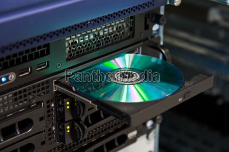 server cd tray