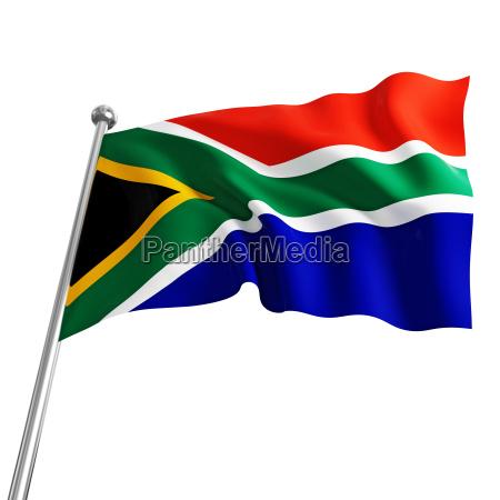 suedafrika flagge