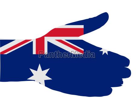 australischer handschlag