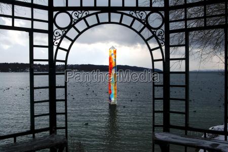art in lake starnberg 1