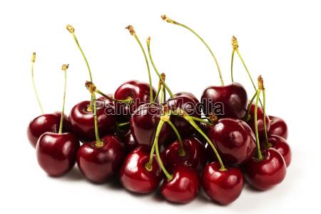 a mountain cherries