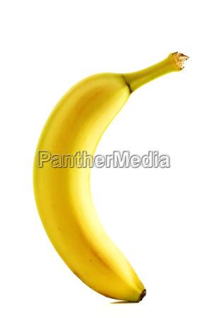 eine stehende banane