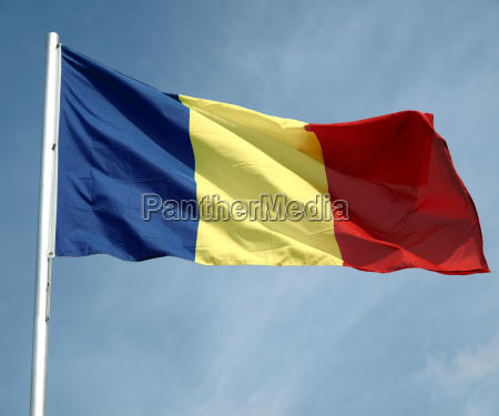flagge des tschad