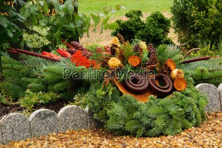 friedhofsgesteck floral arrangement cemetery 17