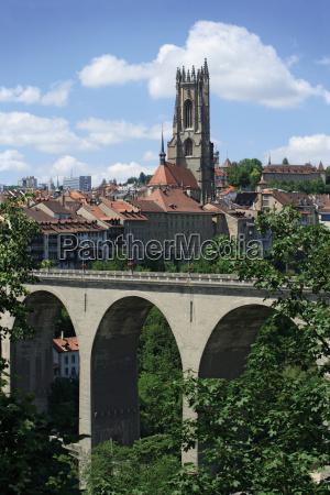 stadt, freiburg, schweiz - 3289691