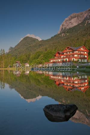 reflection at the hintersee