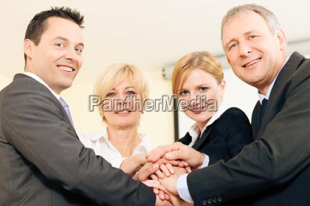 teamwork und verlaesslichkeit