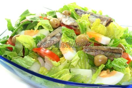chefsalat mit anchovis