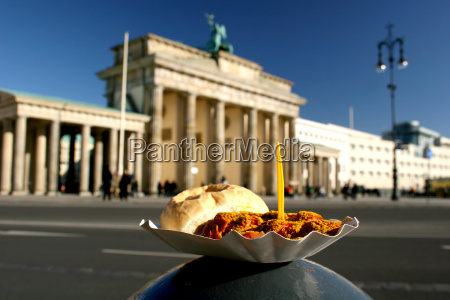 berliner currywurst am brandenburger tor