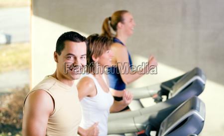 fun on the treadmill