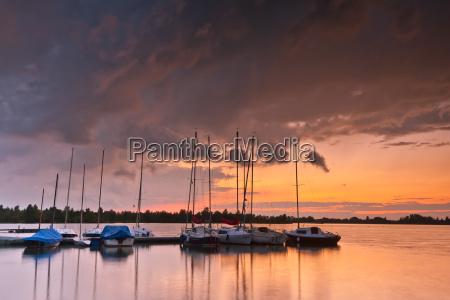 sailboats lechstaustufe