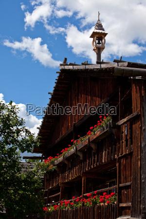 south tyrolean farmhouse