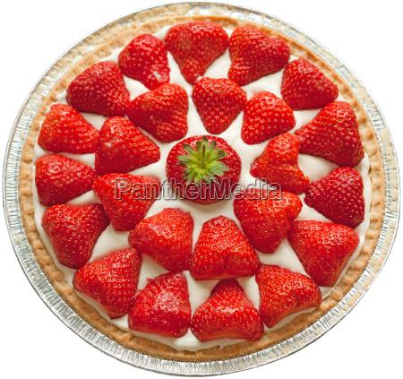 erdbeer kaesekuchen