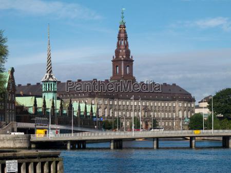 christiansborg palace copenhagen folketinget