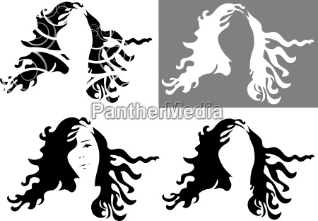 hair face graphics