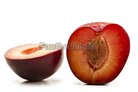 two half plums