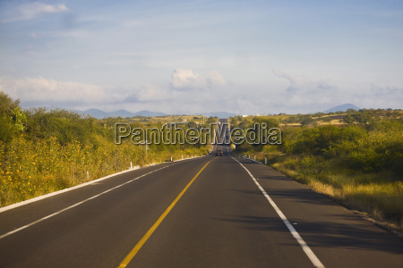 road passing through a landscape san