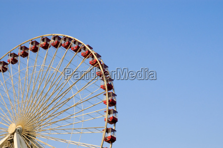 low angle view of a ferris