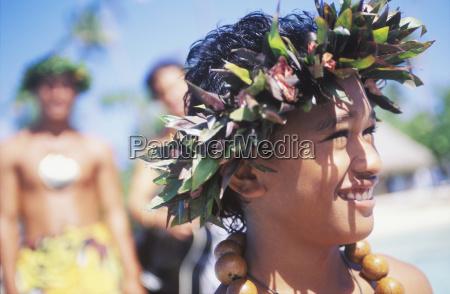 nahaufnahme eines kindes laechelnd hawaii usa