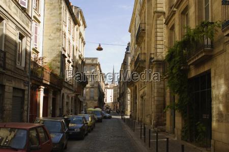 buildings along a street vieux bordeaux