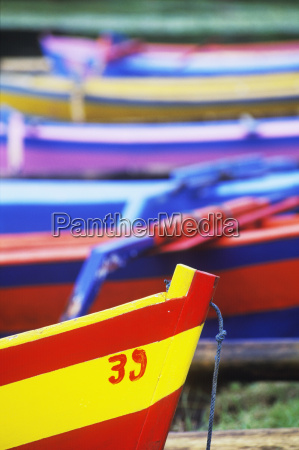 close up of boats bali indonesia