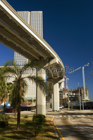low angle view of an elevated