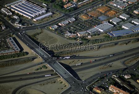 suburban entwicklungen suedkalifornien luftaufnahme