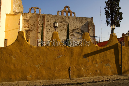 arched wall in front of an