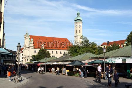 heilig geist kirche viktualienmarkt 3