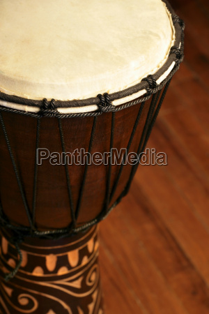 afrikanische djembe trommel