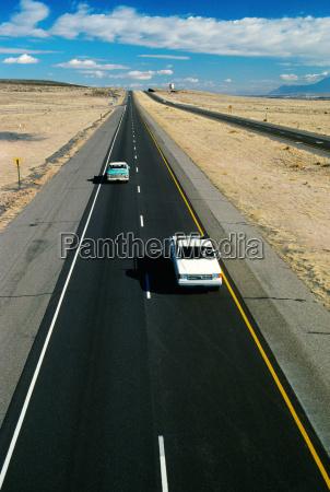 roads highway traffic in new
