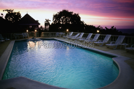 view of a swimming pool at